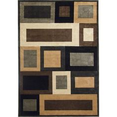 Korhani - Optime Area Rug - 5 Feet 3 Inches x 7 Feet 5 Inches - K09026 - Home Depot Canada