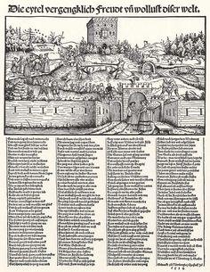 Artist: Schoen, Erhard, Title: Die Freuden der Welt, Date: 1534
