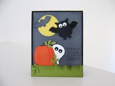 Stampin Up Owl Punch | Stampin Up - Punch Art Halloween - Post By Demonstrator Brandy Cox