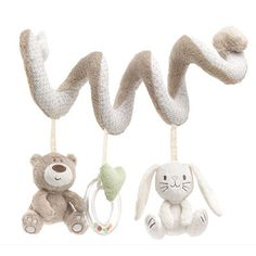 Baby Rattle Toys Mobile Musical 2016 Cute Infant Baby Bed Around Stroller Hanging Bell Rattles Brinquedos Bebe Soft Newborn Toy Cot Toys, Pram Toys, Baby Toys, Mobile Musical, Newborn Toys, Baby Newborn, Newborns, Rabbit Baby, Musical Toys
