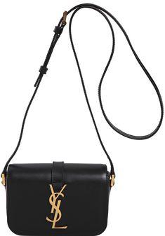 Saint Laurent Small Monogram Université Flap Bag in Black Ysl College, College Bags, Ysl Handbags, Ysl Bag, Luxury Shop, Bag Sale, Leather Bag, Saints, Saint Laurent