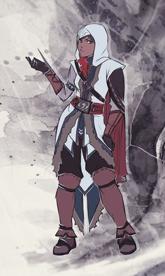 Assassin's Creed: Legend of Korra Crossover - Assassin Korra by on deviantART Korra Avatar, Team Avatar, Character Art, Character Design, Assassins Creed Series, Korrasami, Animation, Legend Of Korra, Avatar The Last Airbender