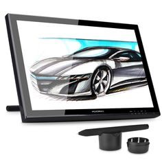 "HUION GT-190 19 inch Graphic Monitor  Digital Tablet  LCD Drawing Monitor 19"" 1440 x 900 Interactive Pen Display Drawing Graphic"