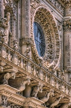 CHURCH OF SANTA CROCE - LECCE, ITALY