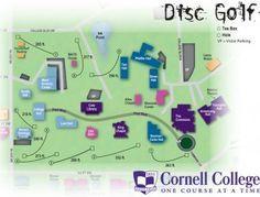 Frisbee golf map!!