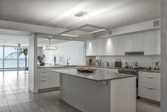 Lighting in this kitchen: Cartesian I Pendant | Boyd Lighting