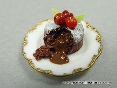 Chocolate Fondant French Dessert