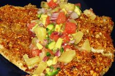 pepita crusted trout--I'll use redfish to try to copy Cafe' Josie's delicious dish.  Great tips on cooking crusted fish, too...
