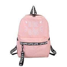 Pink School Bags, Cute School Bags, School Bags For Kids, Bags For College, College School, School School, Middle School, Cute Backpacks For School, Cute Mini Backpacks