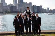 Chicago, IL.  These guys were goofballs but the pictures turned out great! Loved that they weren't stiff and super formal.  © 2014 Sweet Memories Photos and Events All Rights Reserved