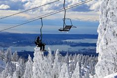 Mount Seymour, view from the Mystery Chair, North Vancouver, BC  http://vancouversnorthshore.com/what-to-do-outdoors/activities/skiing-and-snowboarding