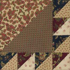 Austen Family Album: Block 12: Waves of the Sea for Francis Austen