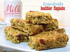 Healthier Flapjacks with Baobab