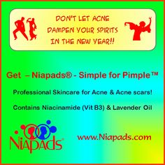 Niapads ® - Best OTC Acne Treatment. Premium Skincare for Acne and Acne scars.