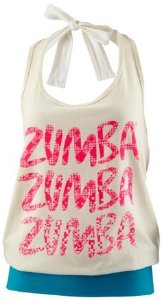 My Wife loves it!    Zumba Fitness Women's Tribe Halter Top, Lollipop, X-Large/XX-Large
