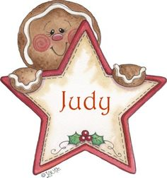 Gingerbread Man tag by Laurie Furnell Gingerbread Ornaments, Christmas Gingerbread, Noel Christmas, Christmas Pictures, Vintage Christmas, Christmas Ornaments, Primitive Christmas, Christmas Clipart, Christmas Printables