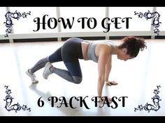 How to Get 6 Pack min Abs Workout/Pilates 5 Min Ab Workout, Toned Abs Workout, Pilates Workout Routine, Workout List, Abs Workout For Women, Fun Workouts, Workout Fitness, 5 Min Abs, 6 Abs