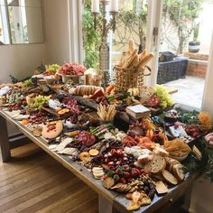 charcuterie board Cheesus, what a board! Plateau Charcuterie, Charcuterie And Cheese Board, Charcuterie Platter, Antipasto Platter, Cheese Boards, Cheese Board Display, Charcuterie Spread, Food Platters, Cheese Platters