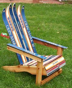 Bon Adirondack Ski Chair By Maineskichairs On Etsy
