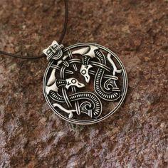 Viking Double Snake Necklace