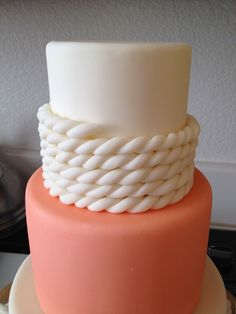 Cake Talk: Rope - With Cake Couture Fondant