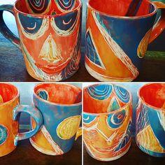 Individuelle Kaffeetassen selber bemalen in Münster. #artcuisine #keramik #pottery