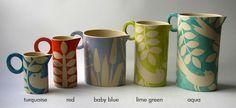ken eardley ceramics from avaocado sweet, also at the lovely http://www.blackbird-england.com