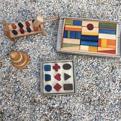#woodenstory back in stock at @normanandjules ❤️regram  #woodenblocks #normanandjules #brooklyn #boutiquestore #woodentoys #ecotoys #greentoy finished with #beeswax and #botanicaloils #natural #producteco #fsccertified #handcrafted in the #beskidymountains #poland