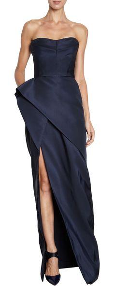 J. Mendel Faille Gown