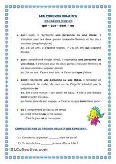 pronoms relatifs-simples
