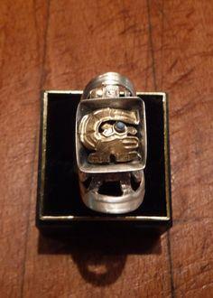 Large Vintage Peruvian Inca Sterling Silver by YourTribeNaturesArt