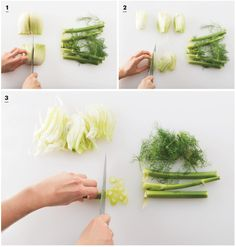 The Fennel 411: How to prep the crunchy veg--stem, fronds, and all