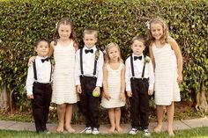 cute flower girl and page boy outfits