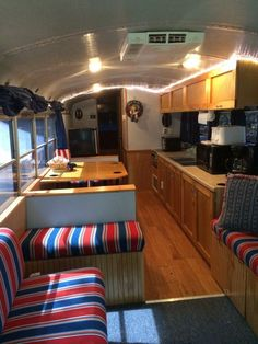 Thomas School Bus RV Conversion Skoolie Tiny House for Sale in Fort Myers Florida School Bus Camper, School Bus House, Rv Bus, School Buses, Bus Motorhome, School Bus Rv Conversion, Bus Remodel, Converted School Bus, Bus Living