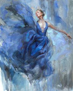 Figure Painting, Painting & Drawing, Ballerina Kunst, Anna Razumovskaya, Art Expo, Ballerina Painting, Dance Paintings, Ballet Art, New York Art