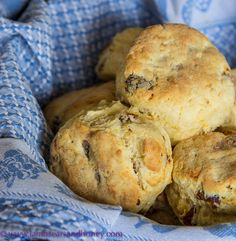 Date, Orange & Sour Cream Scones for International Scone week