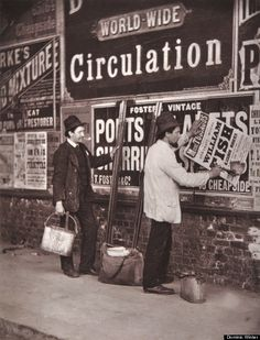 Photos Of Victorian London Show Difficulties Of Life On The Streets