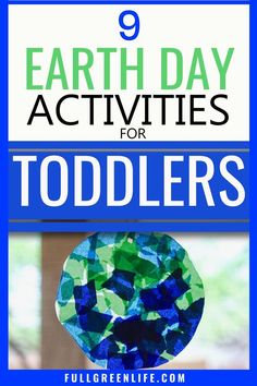 Earth Day is for everyone even the littlest ones! Here are 9 ways you can celebrate with your toddler and teach about Mother Earth. Also includes some Lorax-related activities for Dr. Educational Activities For Toddlers, Activities For 2 Year Olds, Earth Day Activities, Art Therapy Activities, Infant Activities, Lesson Plans For Toddlers, Earth Day Crafts, Art Lessons Elementary, Preschool Lessons