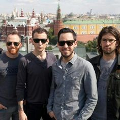 Linkin Park in Moscow