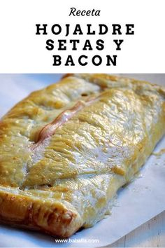 MasterChef: mushroom and bacon puff pastry - DELICIAS - Recetas Dieta Tapas, Gourmet Recipes, Healthy Recipes, Tacos And Burritos, Good Food, Yummy Food, Fast Food, Food Challenge, Burger
