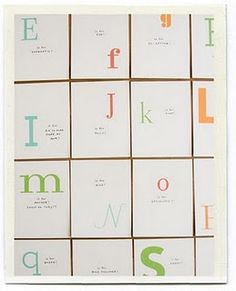 another guestbook idea