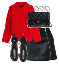 """""""Untitled #3218"""" by theeuropeancloset on Polyvore featuring Guild Prime, Dsquared2, Balenciaga, Chanel and ASOS"""