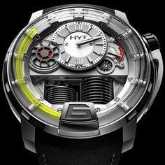 HYT H1 Titanium Watch by HYT