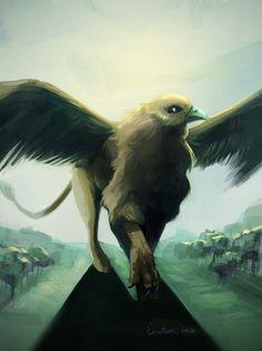 Giant Griffin by EvilPNMI on DeviantArt