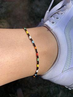 Handmade Wire Jewelry, Diy Crafts Jewelry, Bracelet Crafts, Cute Jewelry, Handmade Bracelets, Bead Jewellery, Beaded Jewelry, Beaded Bracelets, Seed Bead Bracelets Diy