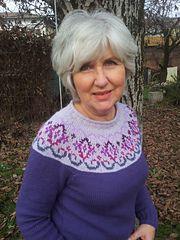 Ravelry: Kaleido-Yoke Sweater pattern by Suz Ryan