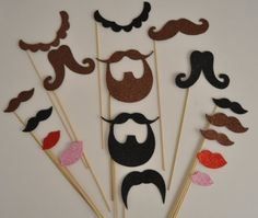 17 Pc Photo Booth Party Props Mustache on a Stick Mustaches and Lips picwrap http://www.amazon.com/dp/B00IO2QRNA/ref=cm_sw_r_pi_dp_TApWtb0Q9J147F3R