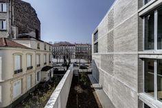 Amicale Laique Chapelon by Clement Vergely Architectes