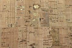Kurk textiel op rol naturel goud.Prijs is per stuk van ca. 50  x 70 cm.