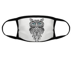 Owl face Mask with Filter - Adult Reusable Washable with Activated Carbon Filter Dust-Proof Face Mas Beaded Lace Fabric, Fabric Beads, Crochet Mask, Crochet Poncho, Crochet Curtains, Scrap Metal Art, Wire Wrapped Bracelet, Jewelry Tree, Double Knitting